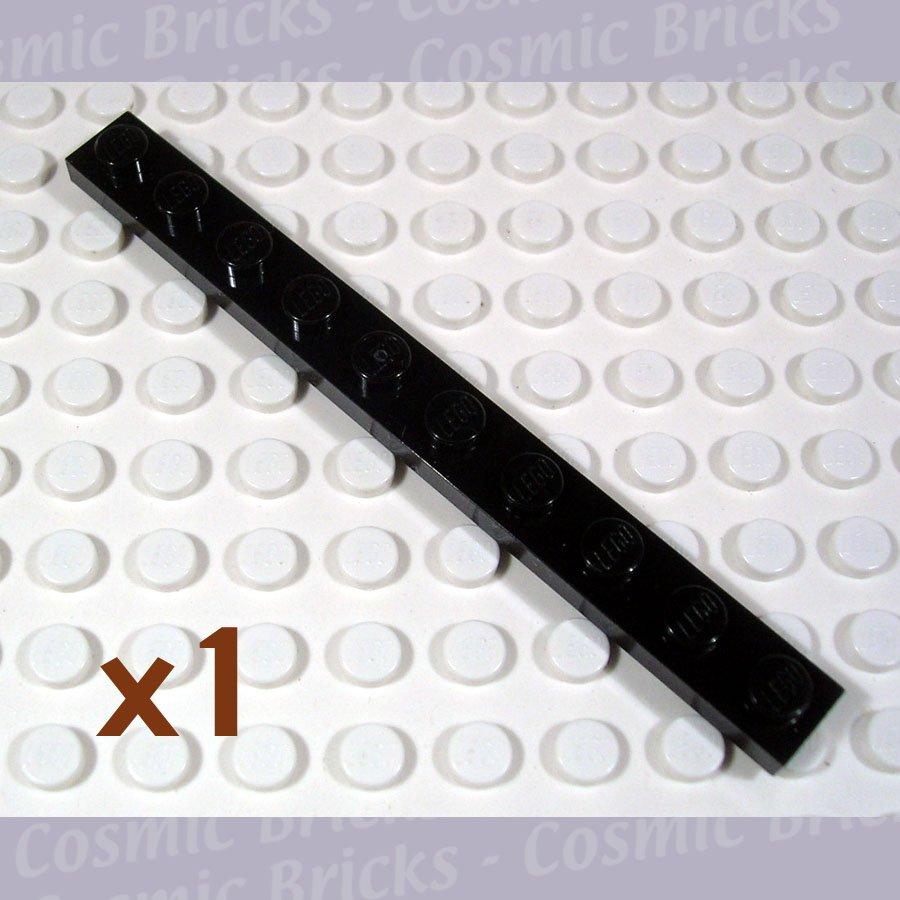 LEGO Black Plate 1x10 447726 4477 (single,N)