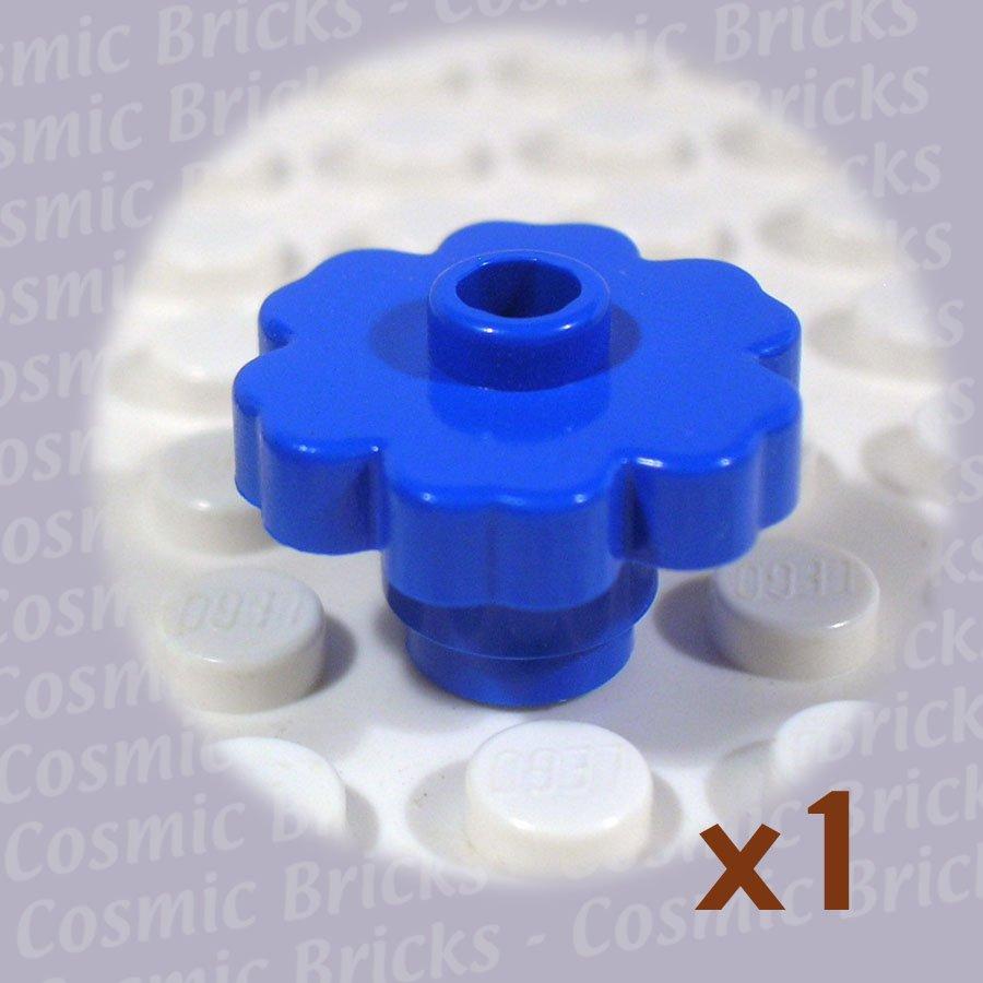 LEGO Blue Plant Flower 2x2 Rounded 472823 4728 (single,N)