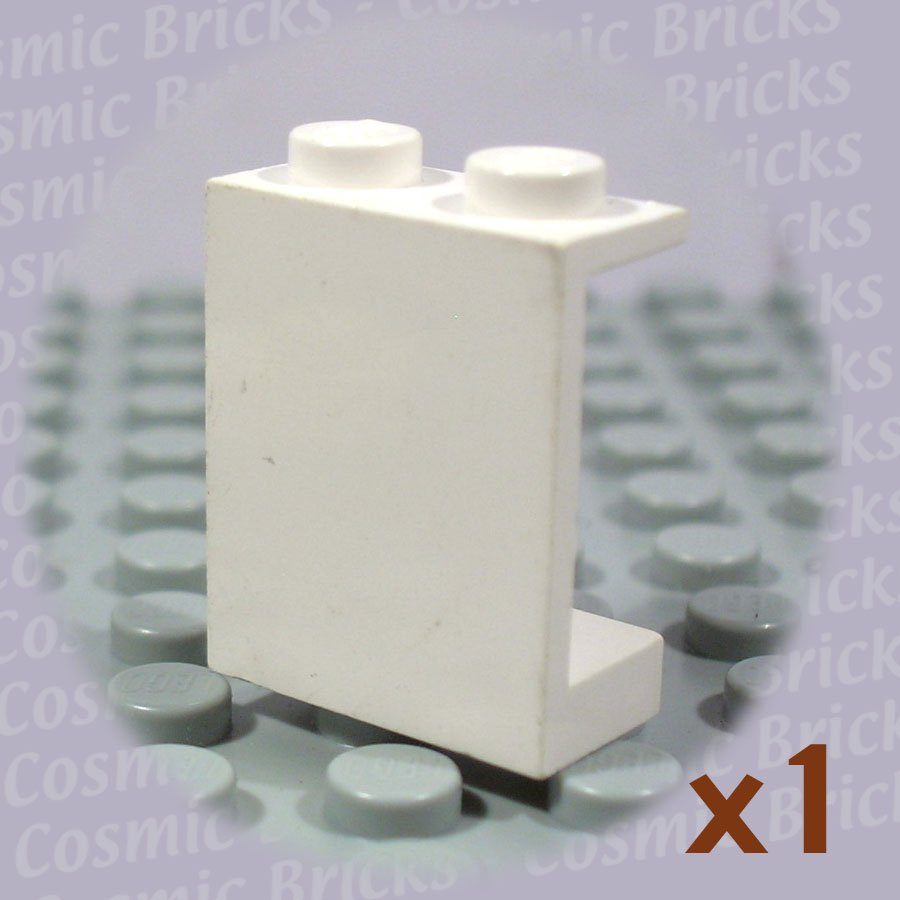 LEGO White Panel 1x2x2 486401 4864 (single,U)