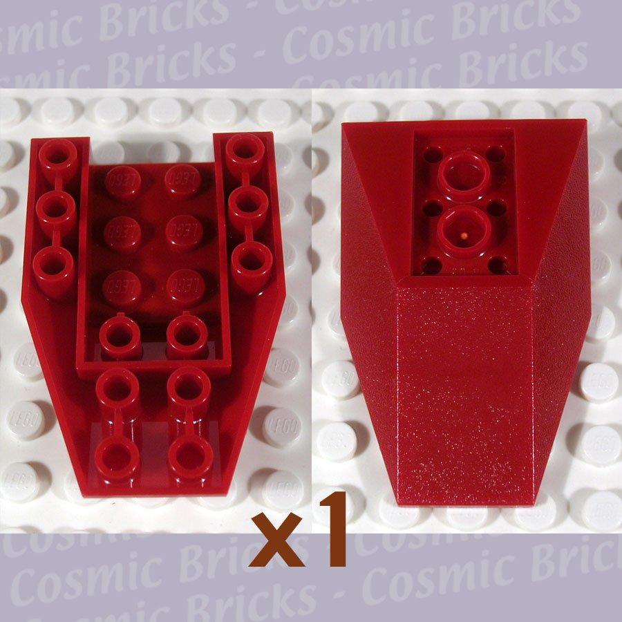 LEGO Dark Red Wedge 6x4 Triple Inverted 4856154 4856 (single,N)