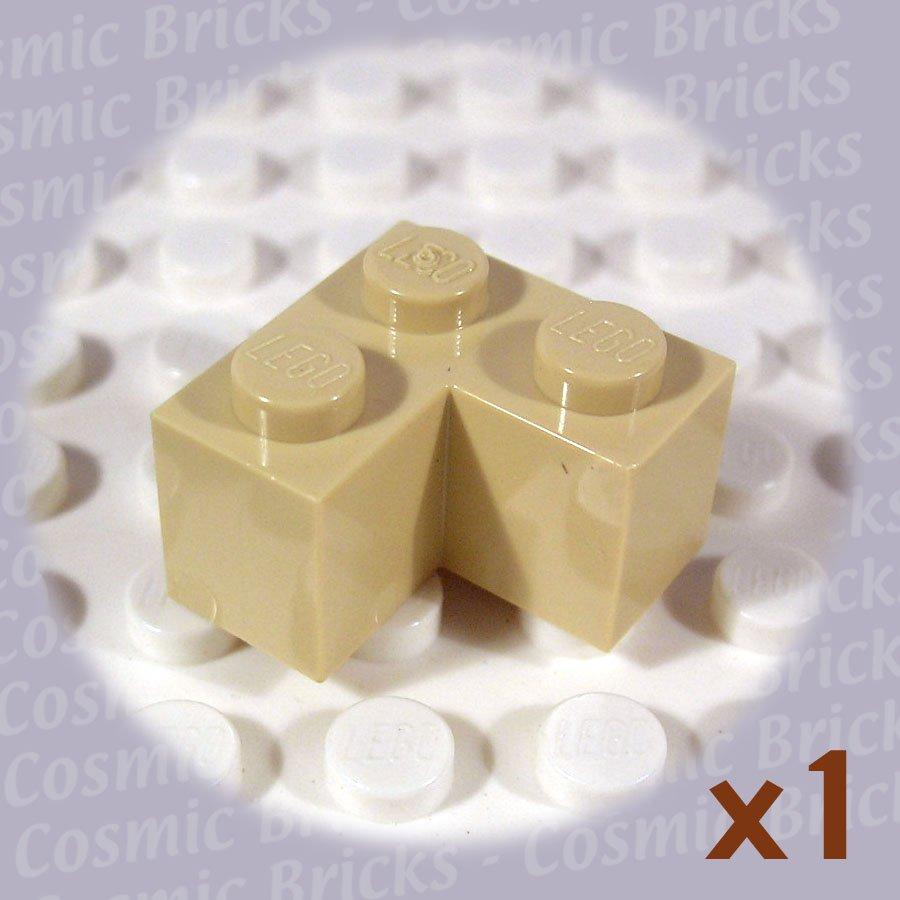 LEGO Tan Brick 2x2 Corner 4124455 2357 (single,N)