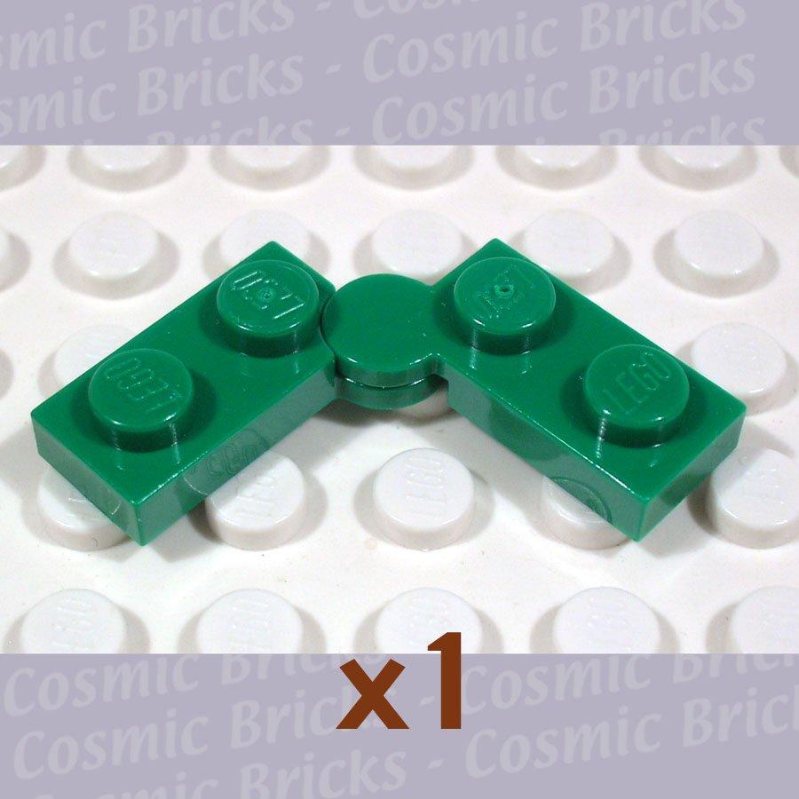 LEGO Dark Green Hinge Plate 1X2 Upper/Lower 4100353 4187931 73983 (single,N)
