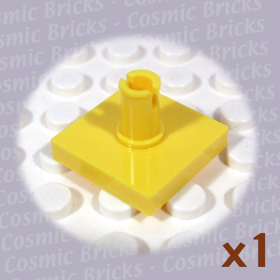 LEGO Yellow Tile Modified 2x2 Pin 246024 2460 (single,N)