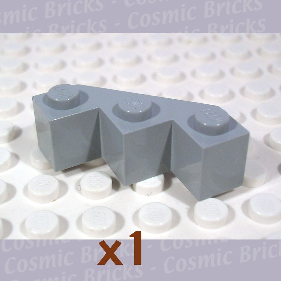 LEGO Light Bluish Gray Brick Modified Facet 3x3 4211718 2462(single,N)