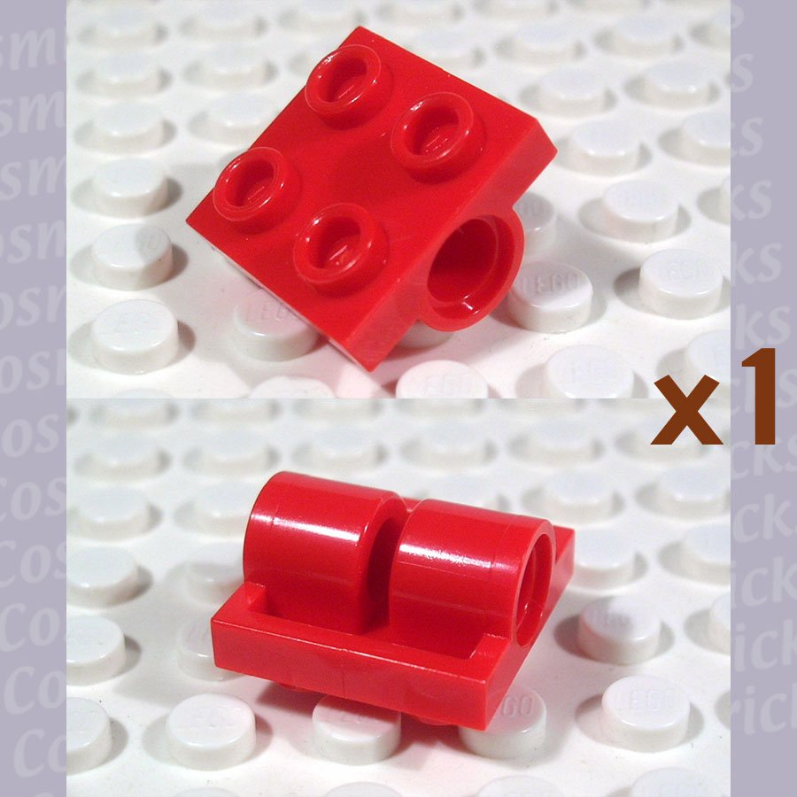 LEGO Red Plate Modified 2x2 with Holes 281721 2817 (single,N)