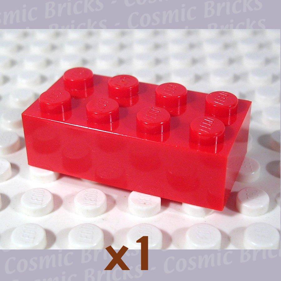 LEGO Bright Red Brick 2x4 300121 3001 (single,U)