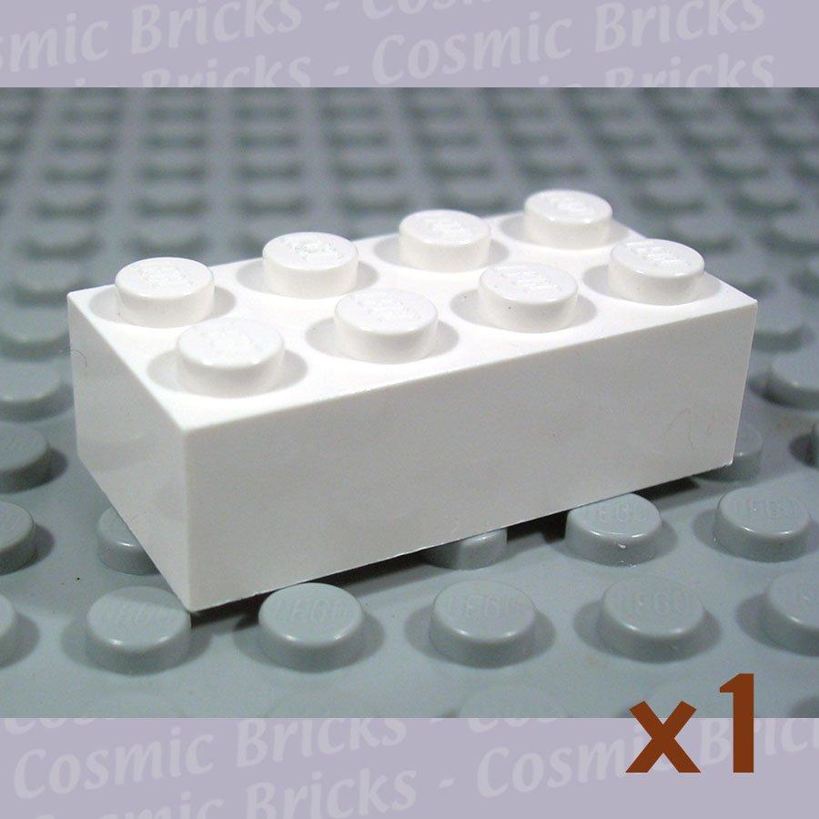 LEGO White Brick 2x4 300101 3001 SingleN