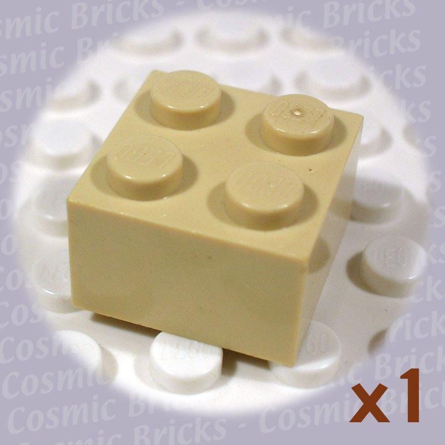 LEGO Tan Brick 2x2 4114306 3003 (single,U)