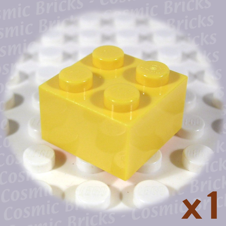 LEGO Yellow Brick 2x2 300324 3003 (single,N)