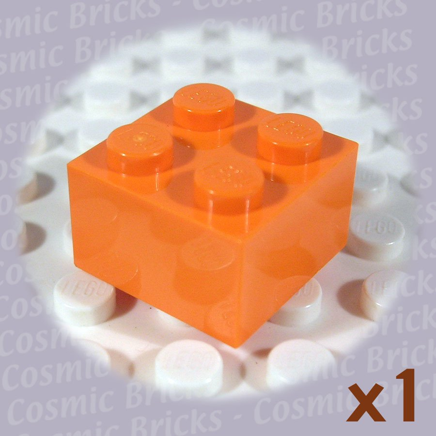LEGO Orange Brick 2x2 4153825 3003 (single,N)