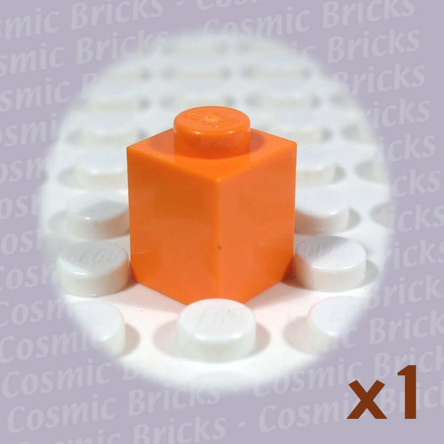 LEGO Orange Brick 1x1 4173805 3005 (single,N)