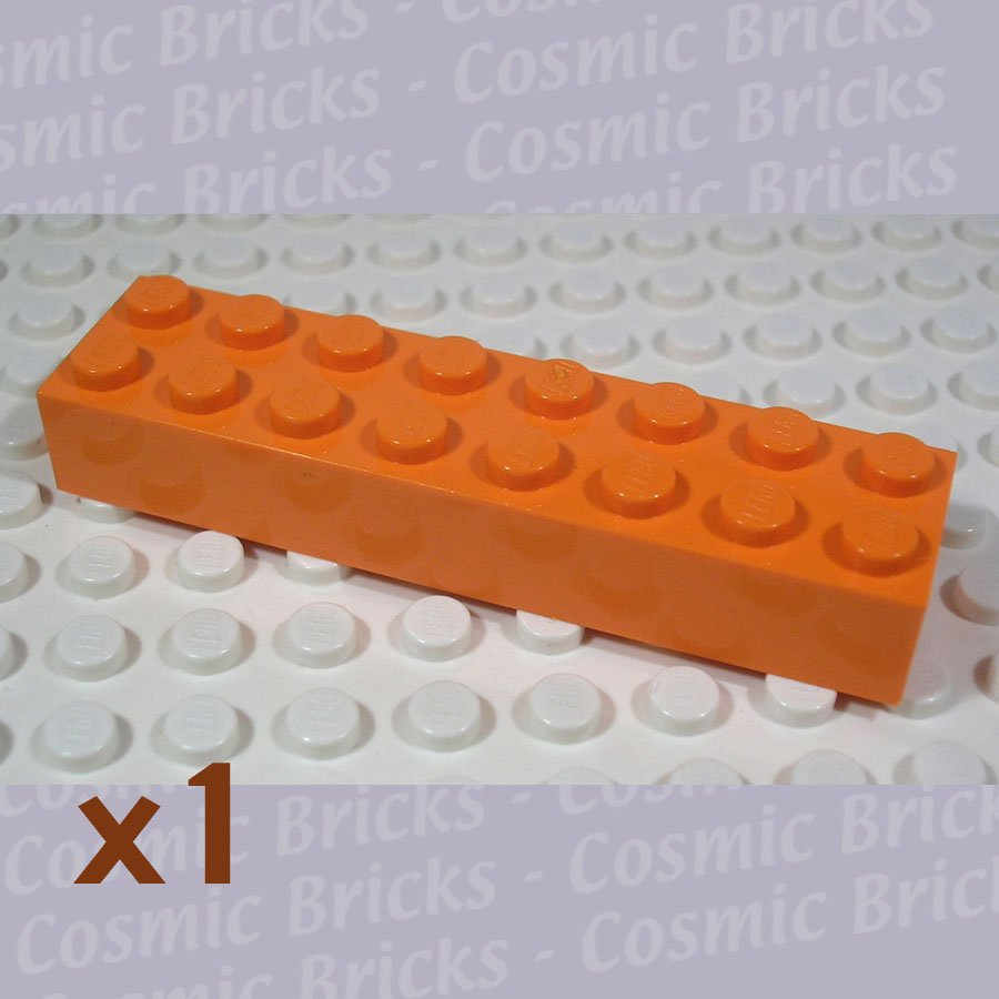 LEGO Orange Brick 2x8 4513284 300 (single,N)