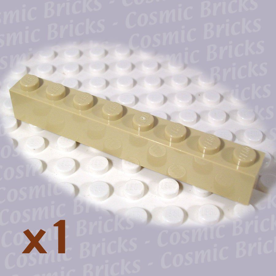 LEGO Tan Brick 1x8 4124002 4159774 3008 (single,N)