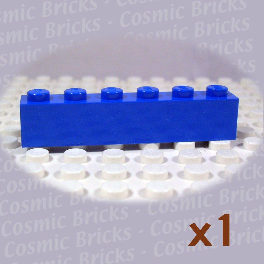 LEGO Blue Brick 1x6 300923 3009 (single,U)
