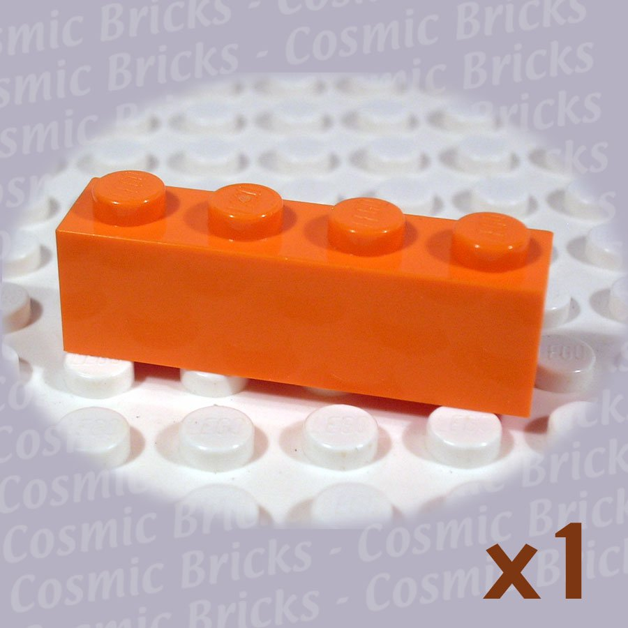 LEGO Orange Brick 1x4 4118827 3010 (single,N)