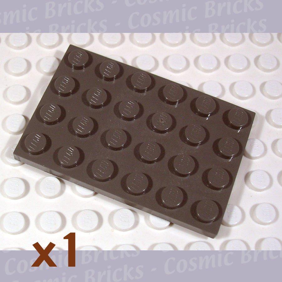 LEGO Dark Gray Plate 4x6 4116853 3032 (single,U)