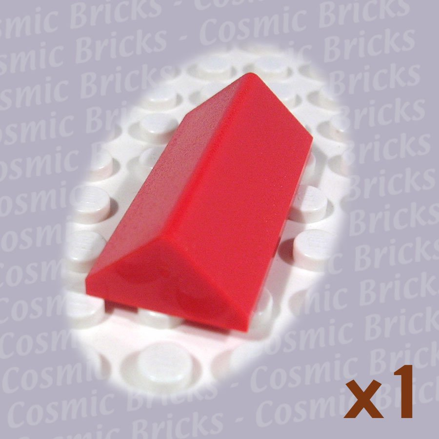 LEGO Red Slope 45 2x4 Double 4144003 3041 (single,N)