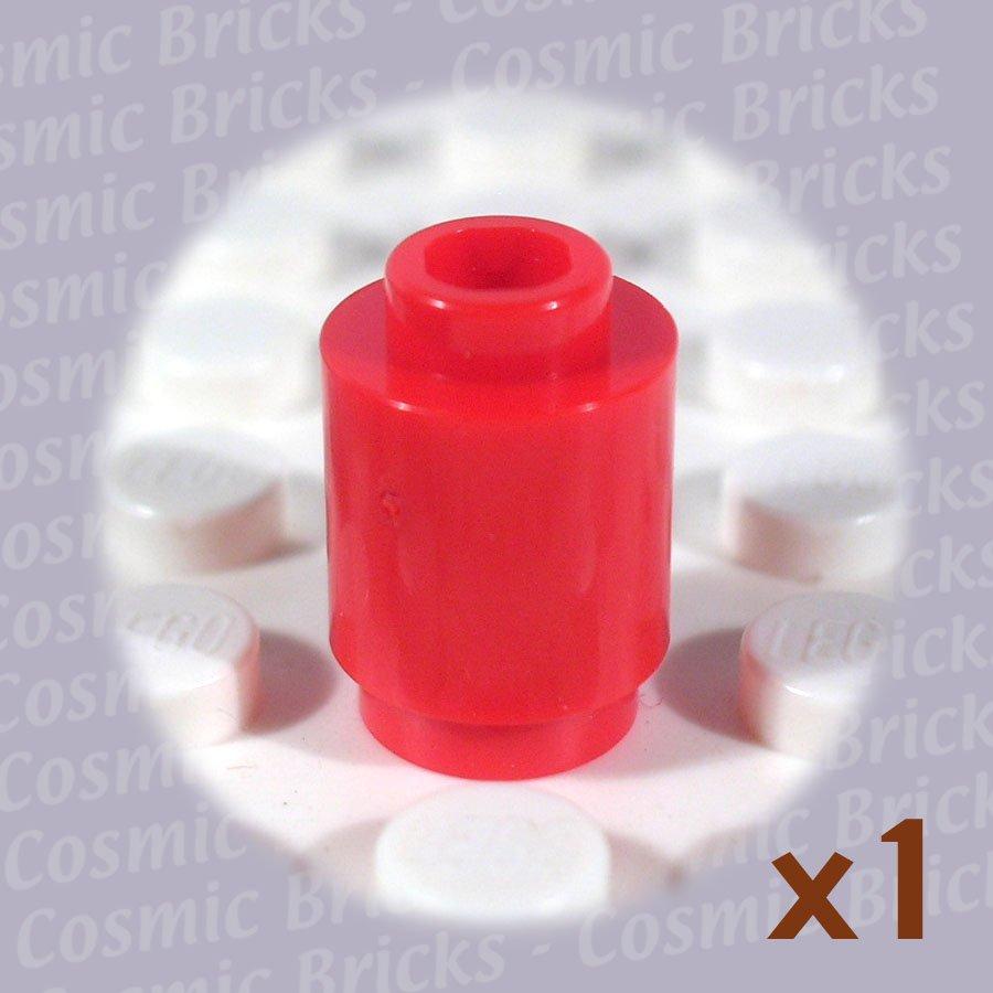 LEGO Red Brick Round 1x1 306221 3062 (single,N)