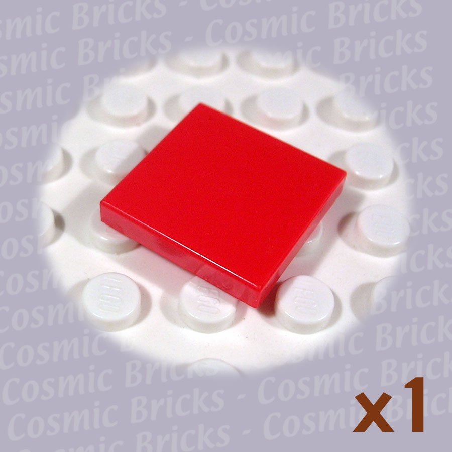 LEGO Red Tile 2x2 306821 3068 (single,N)