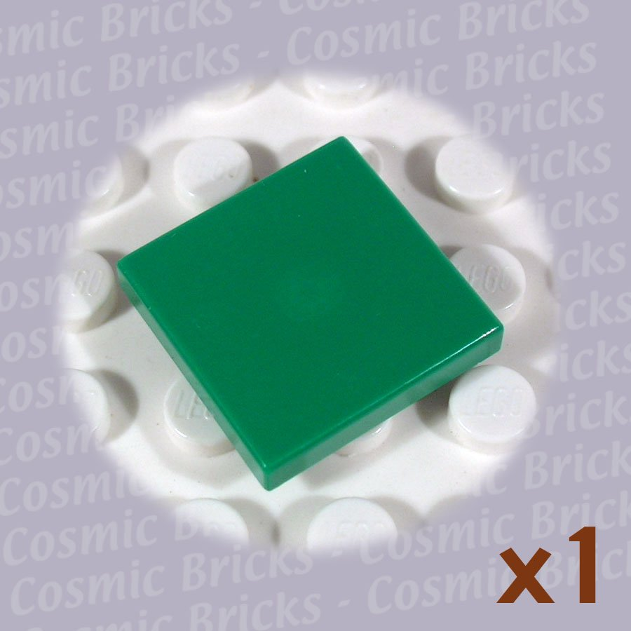 LEGO Dark Green Tile 2x2 4107762 3068 (single,N)