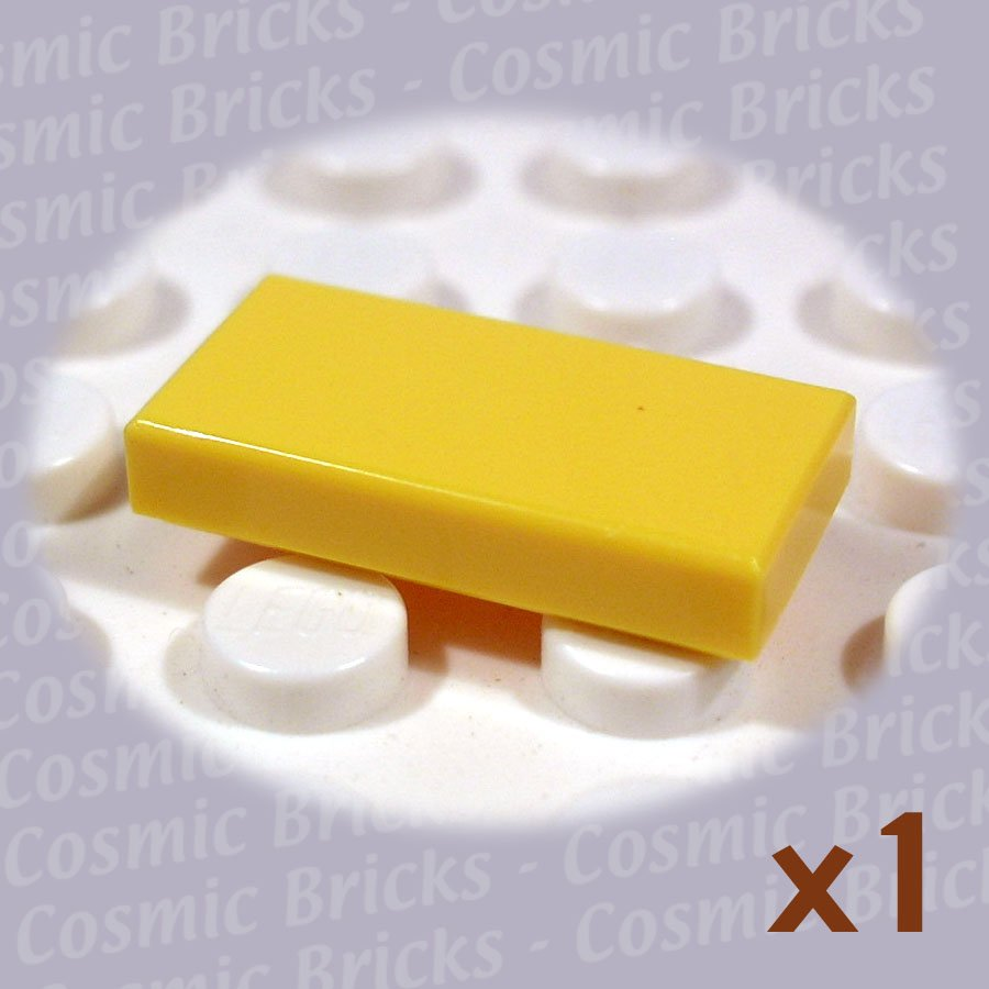 LEGO Bright Yellow Tile 1x2 306924 3069 (single,N)