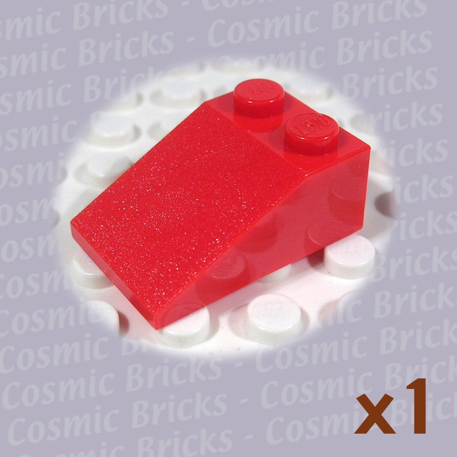 LEGO Red Slope 33 3x2 329821 3298 (single,N)