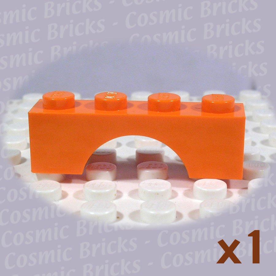 LEGO Orange Brick Arch 1x4 3659 (single,N)