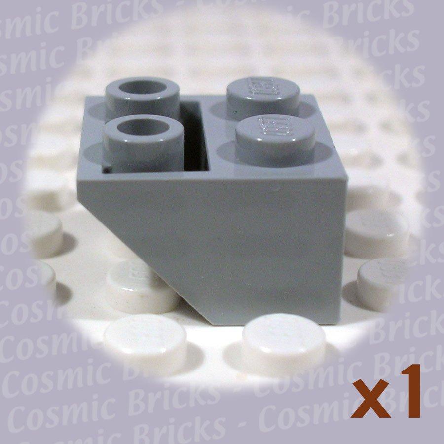 LEGO Medium Stone Grey Slope Inverted 45 2x2 4211436 3660 (single,N)