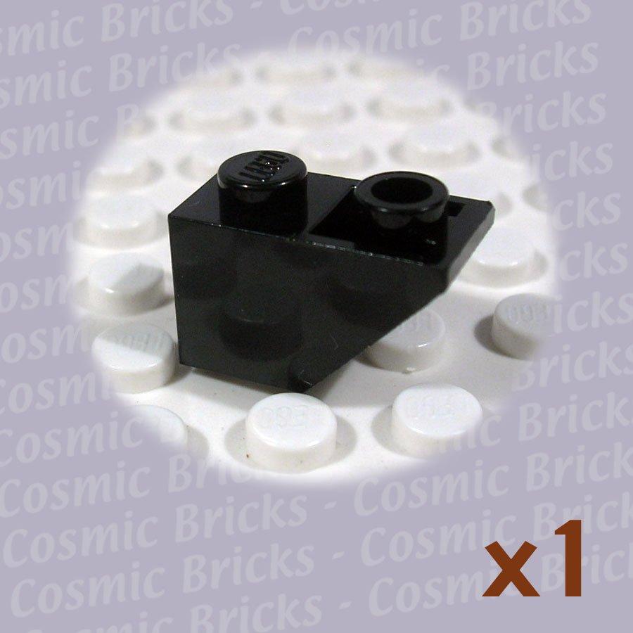 LEGO Black Slope Inverted 45 2x1 366526 3665 (single,U)