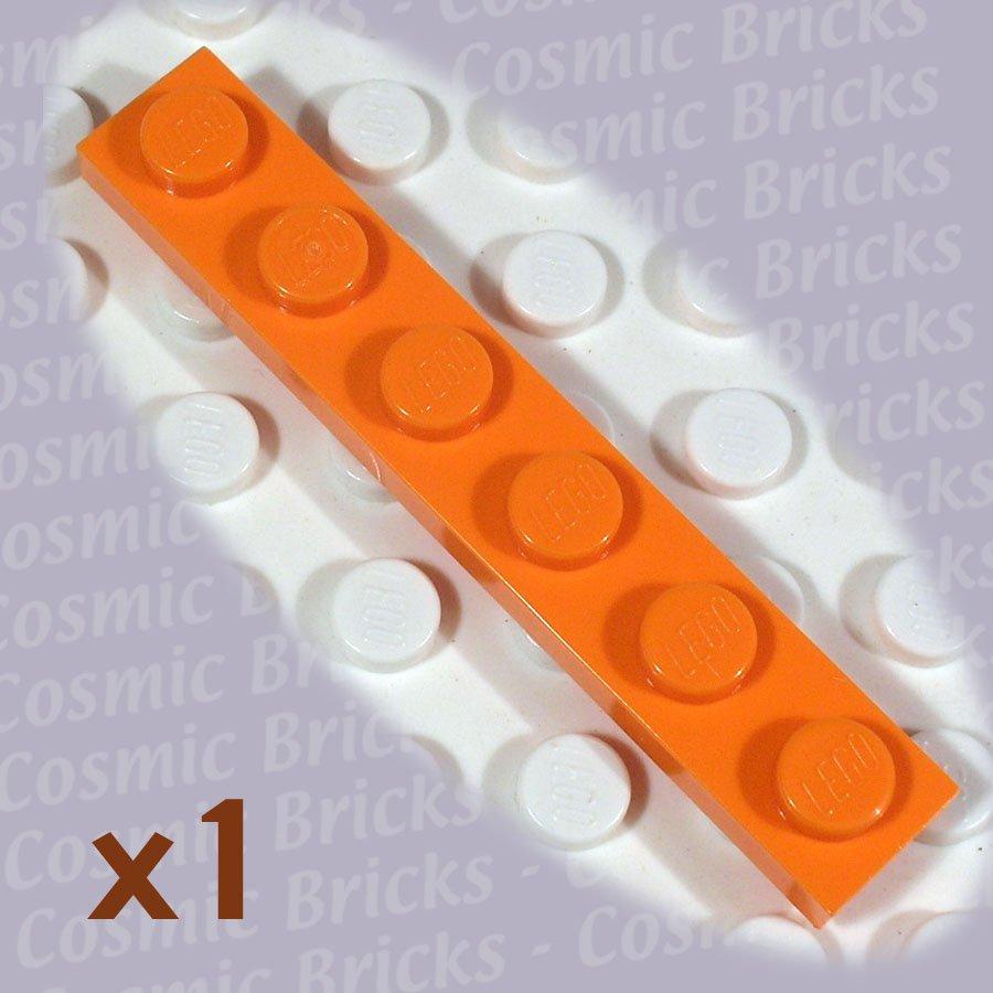 LEGO Orange Plate 1x6 4173332 3666 (single,N)