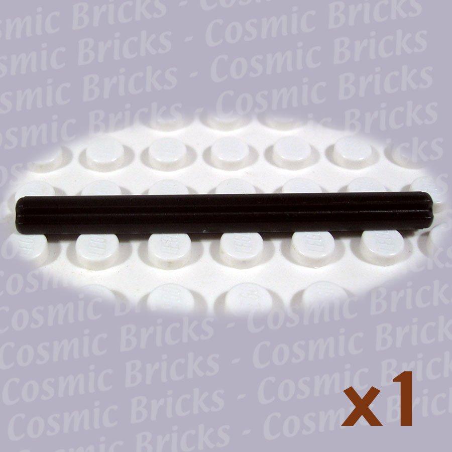black Cross Axle 6L 6 x LEGO Technic 3706 Axe 6M NEUF NEW noir