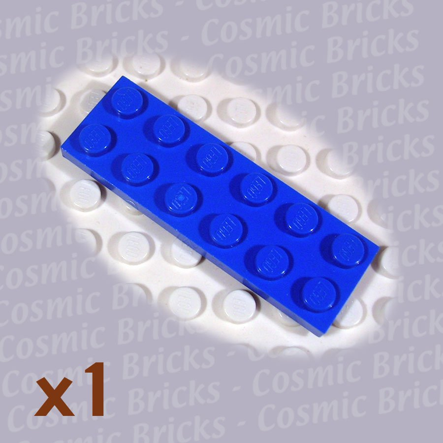 LEGO Blue Plate 2x6 379523 3795 (single,U)