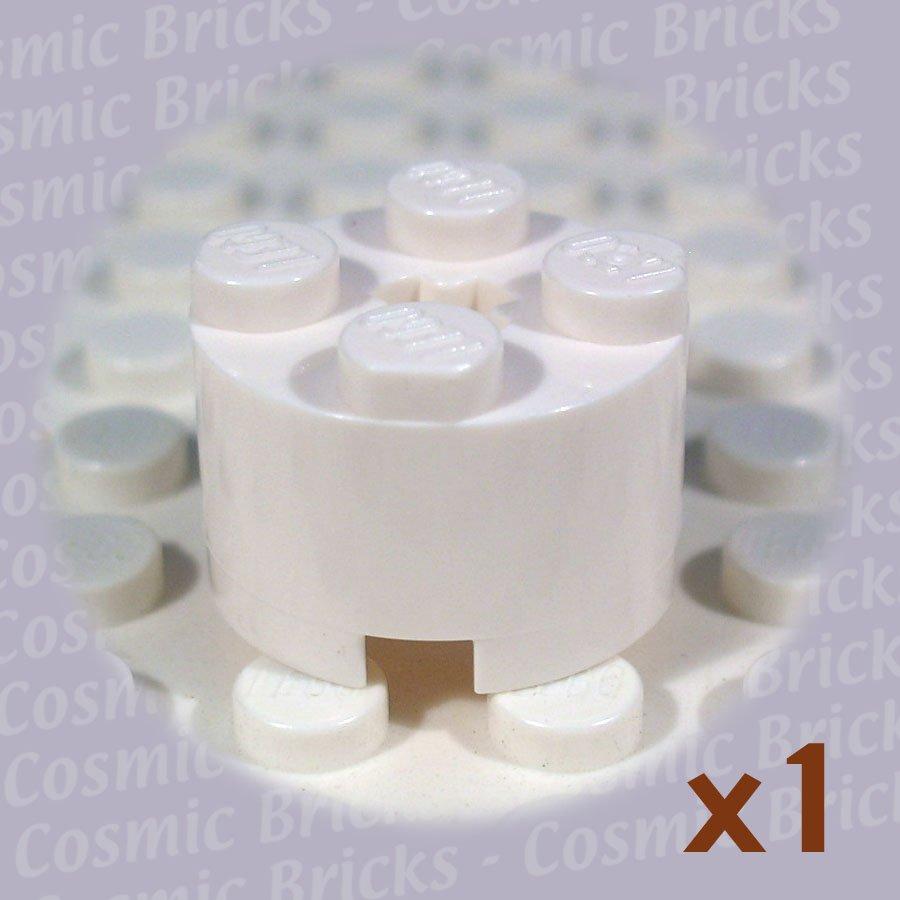 LEGO White Brick Round 2x2 614301 3941 (single,U)