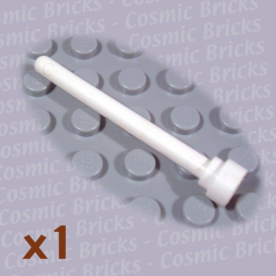 LEGO White Antenna 1x4 395701 3957 (single,U)
