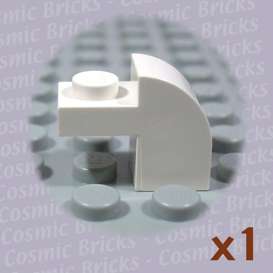 LEGO White Brick Modified 1x2x1.3 Curved Top 609101 6091 (single,N)