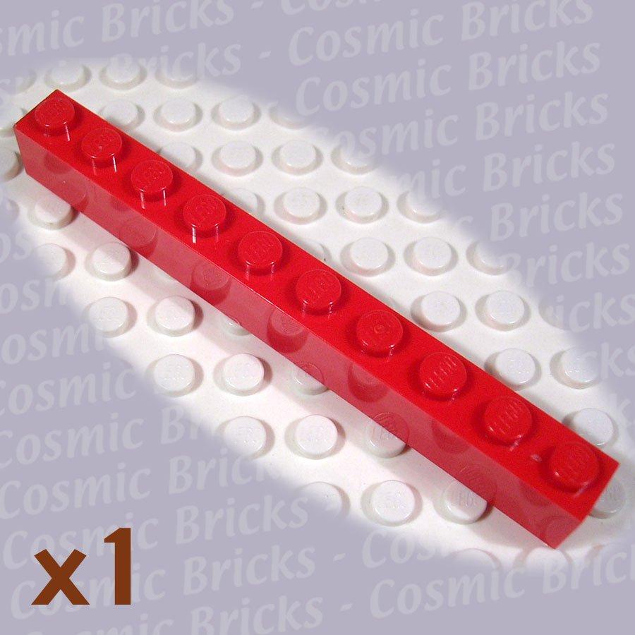 LEGO Red Brick 1x10 611121 6111 (single,N)