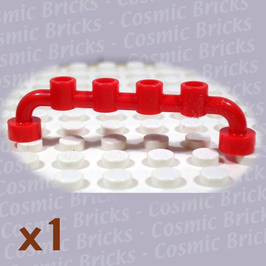 LEGO Bright Red Bar 1x6 Studs Open 4289557 6140 (single,U)