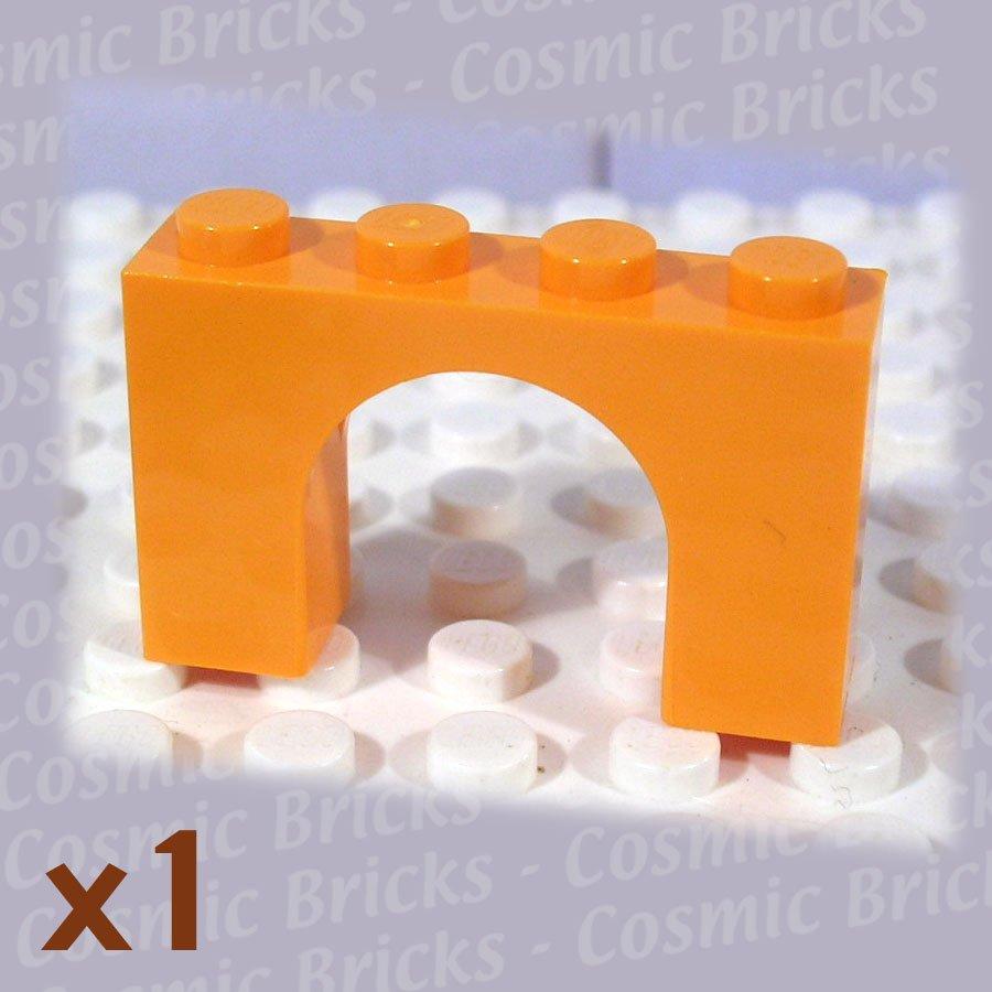 LEGO Medium Orange Brick Arch 1x4x2 6182 (single,N)