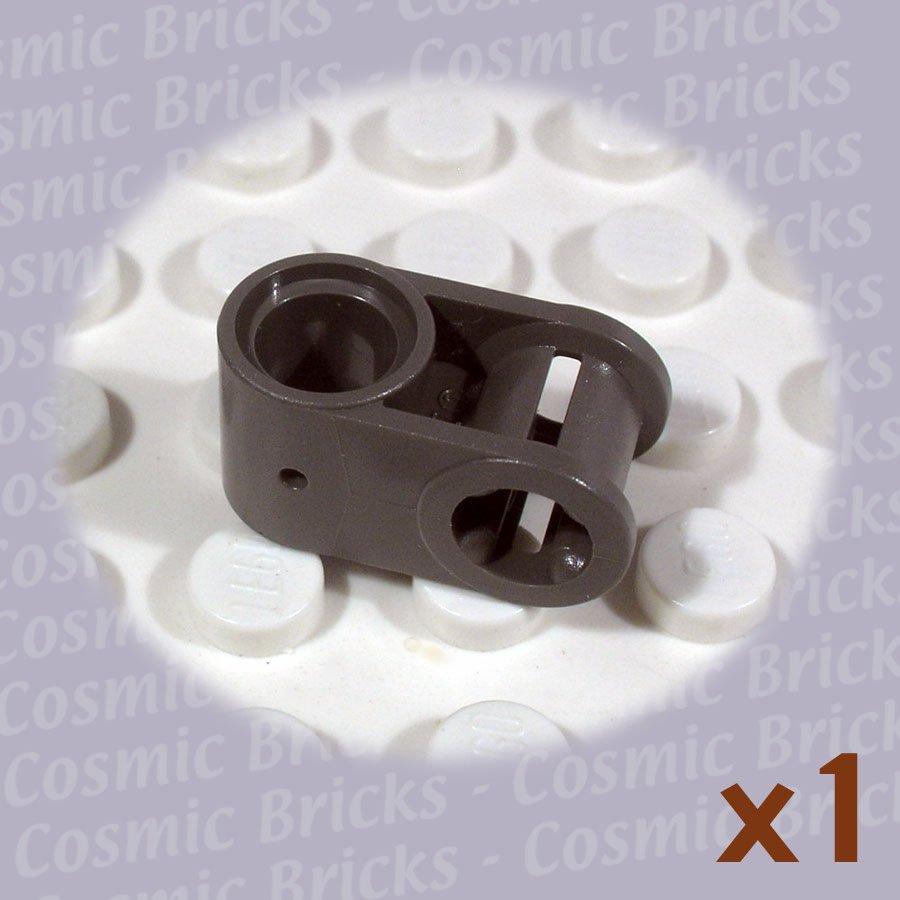 LEGO Dark Gray Technic Axle Pin Connector Perpendicular 4173659 6536 (single,N)