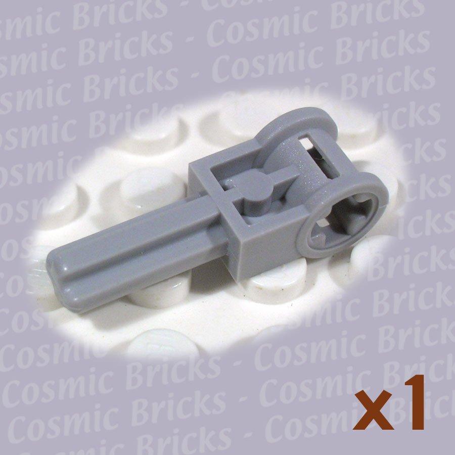 LEGO Light Bluish Gray Technic Pole Reverser Handle 4211536 6553 (single,N)
