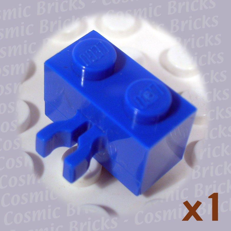 LEGO Blue Brick 1x2 Vert. Clip 30237 (single,U)