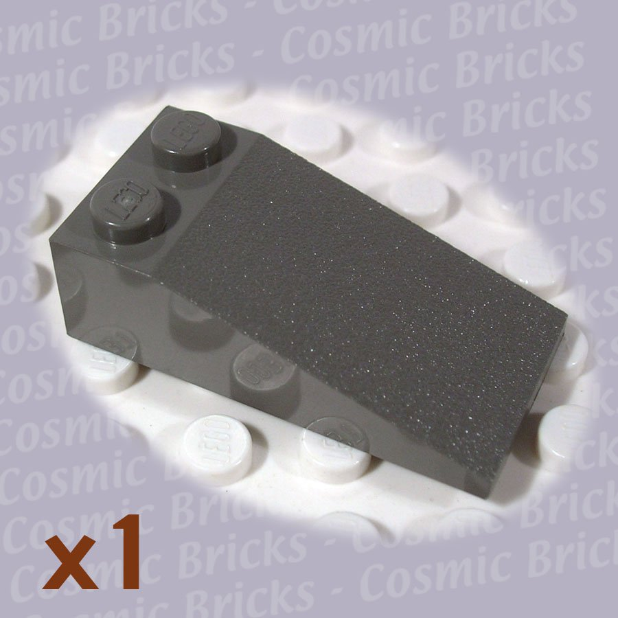 LEGO Dark Gray Slope 18 4x2 30363 (single,N)