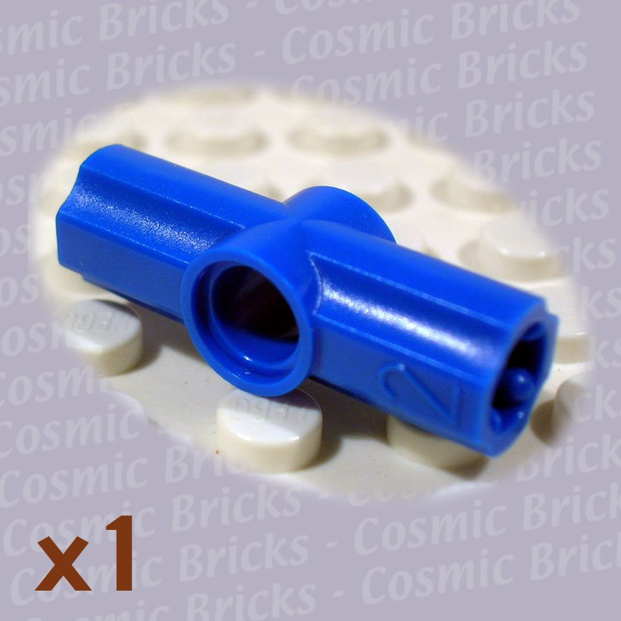 LEGO Blue Technic Axle Pin Connector Angled #2 4107798 32034 (single,N)