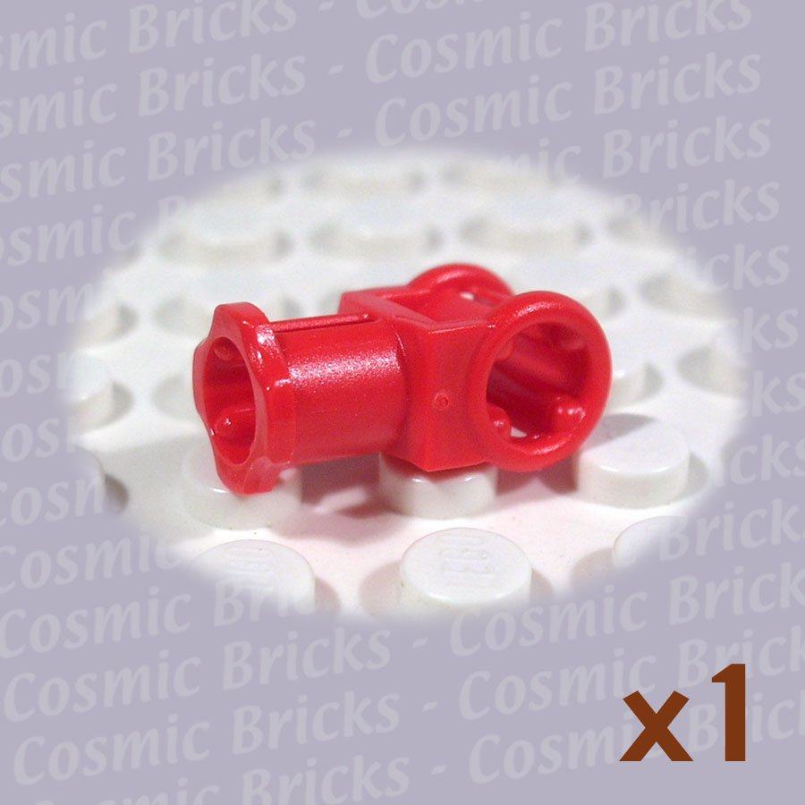 LEGO Red Technic Axle Connector Axle Hole 4118897 32039 (single,N)