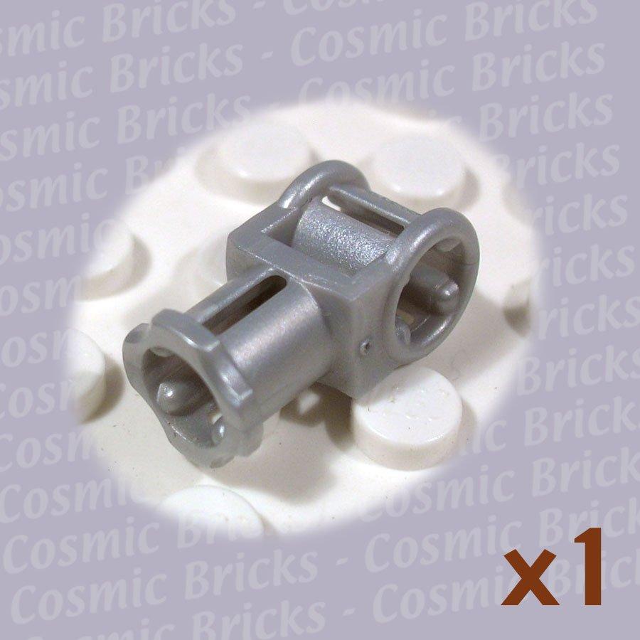 LEGO Pearl Light Gray Technic Axle Connector Axle Hole 4177427 32039 (single,N)