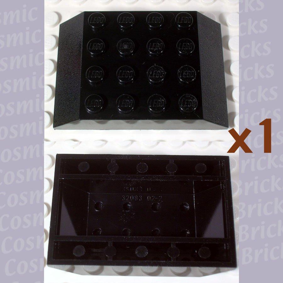 LEGO Black Slope 45 6x4 Double 4116792 32083 (single,N)