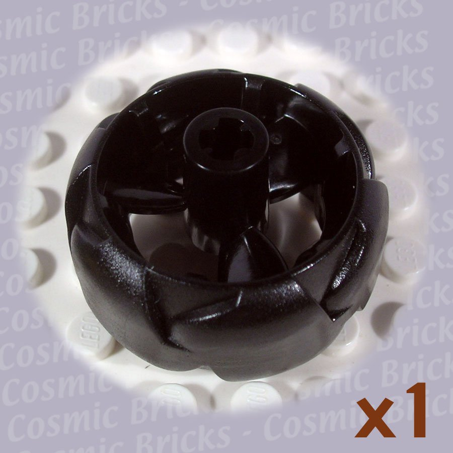 LEGO Black Wheel 32mm ZNAP Propeller (single,N)