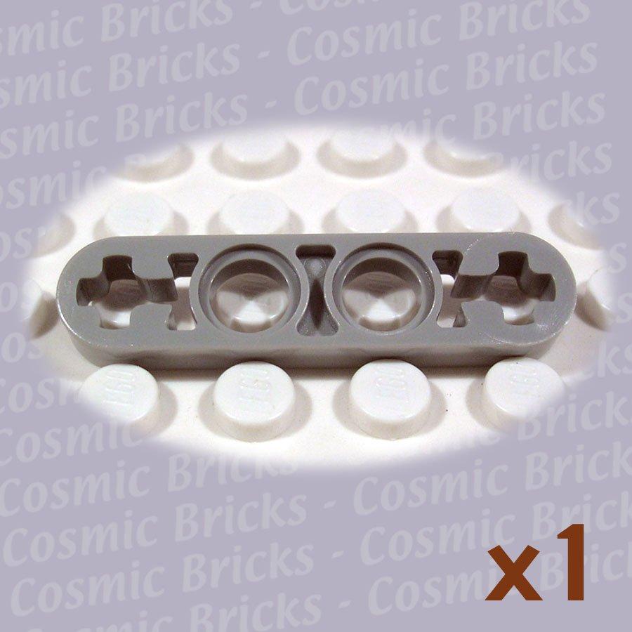 LEGO Grey Technic Liftarm 1x4 Thin 4141603 32449 (single,N)