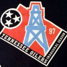 Rare Vintage Tennessee Oilers 1997 Inaugural Season Men's XL 100% Cotton Collect