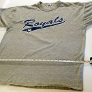 MLB Kansas City Royals T-Shirt Men's XL Gray